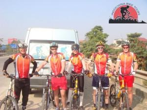Burma biking challenge