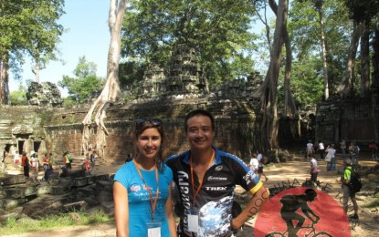 Angkor Wat Cycling Tour – 1 day